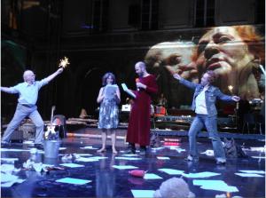 """Stemanns Inszenierung der """"Kontrakte"""" in Avignon (26.07.2012)"""